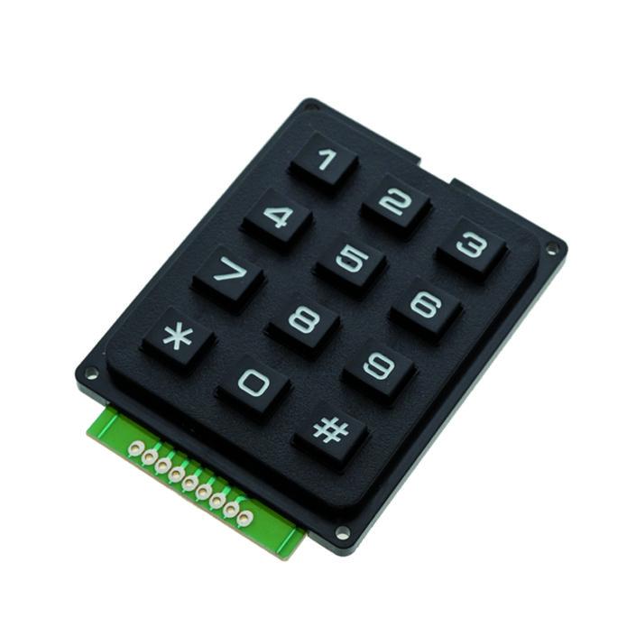 4X3 Matrix Keyboard Keypad Module