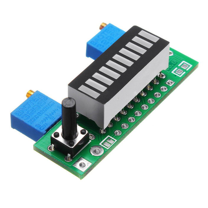 LM3914 Indicator Module Battery capacity indicatorRGB