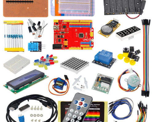 UNO R3 Board 1602 Display SG90 Servo Motor Starter Kit For Arduino