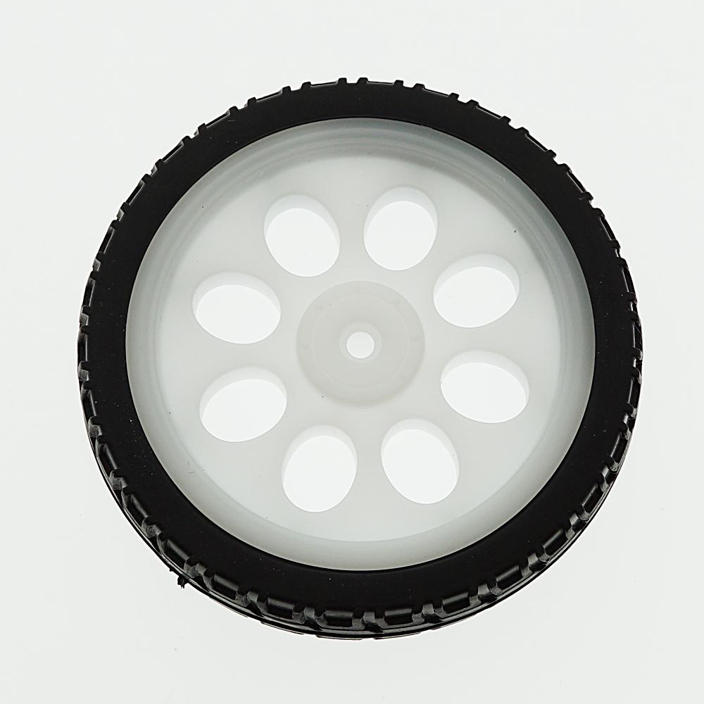 Details about  /Black DIY Wheels Robot Smart Car Tires TT Motors Electronic Design Toys New